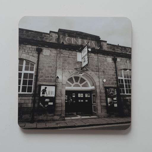 Cottage Road Cinema mono coaster