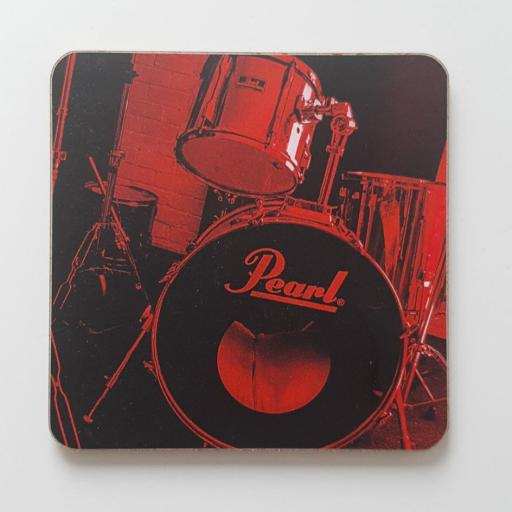 Pearl Drum kit Red