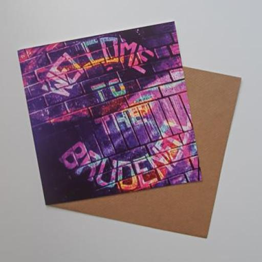 Brudenell - Welcome to Brudenell Art card
