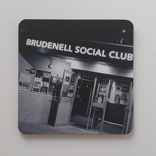 Brudenell Social Club Grey coaster