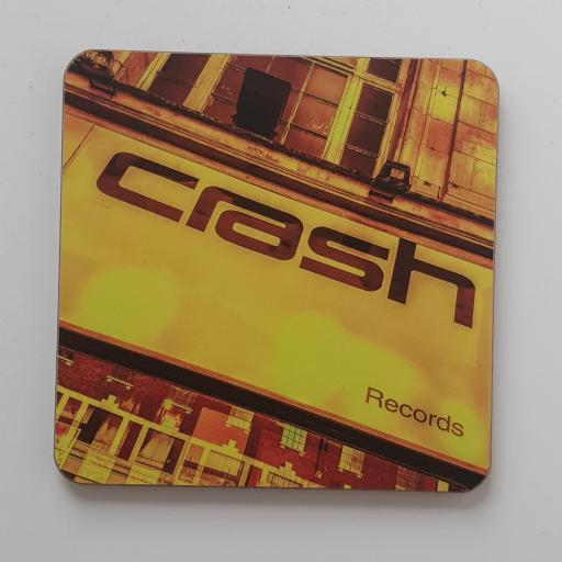 Crash Records Coaster