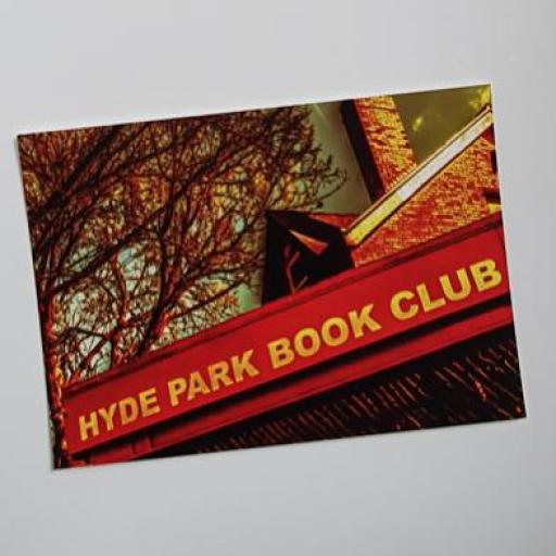 Hyde Park book Club postcard