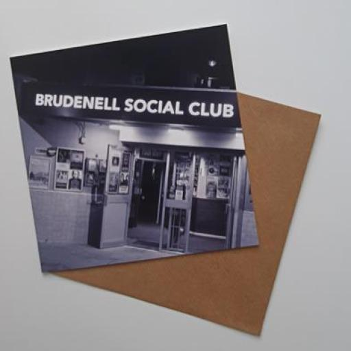 Brudenell Social Club art card
