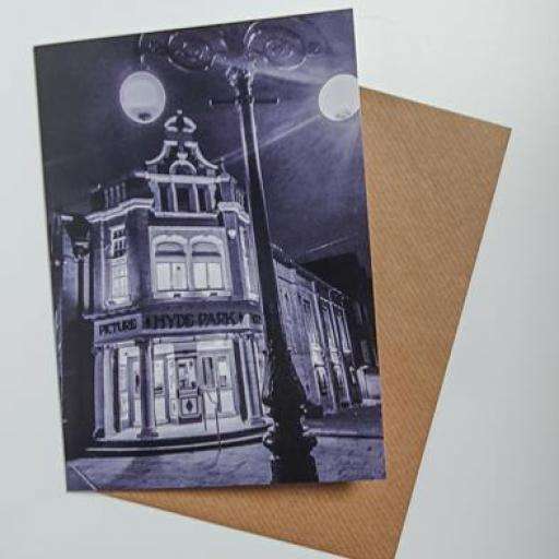 Hyde Park Picture House Art card