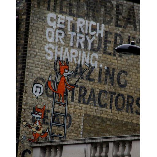 Camden Town Street art print