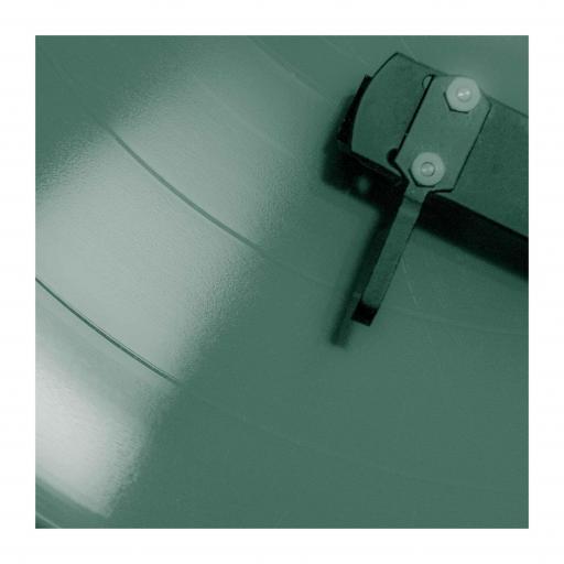 Vinyl Green Square print