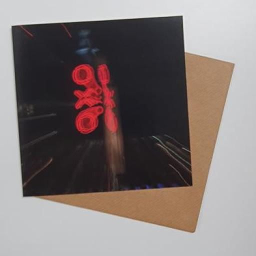 Oxo Tower Card 15cm square