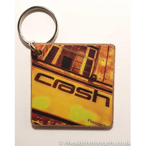 Crash Records keyring
