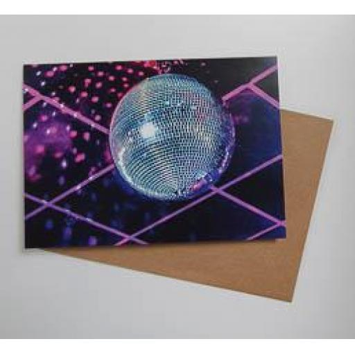 Disco Ball - Brudenell Social Club art card