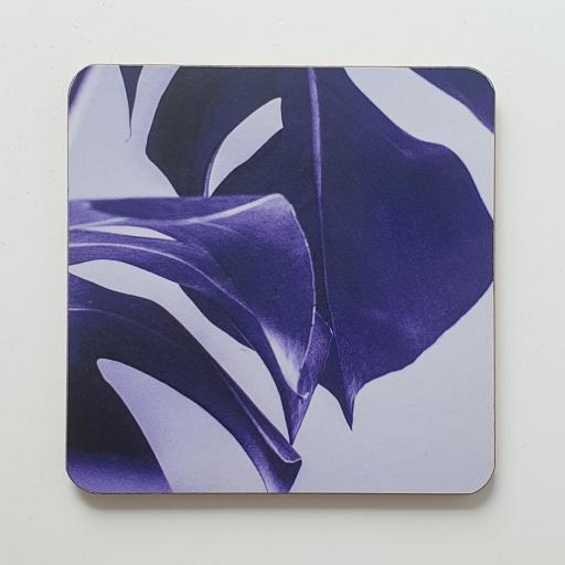 Monstera Purple coaster