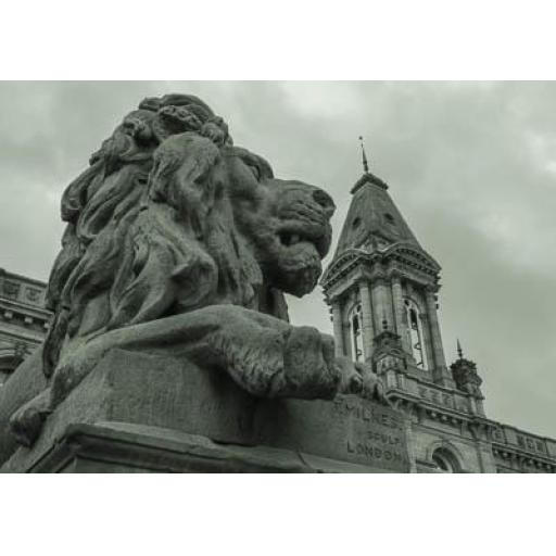 War the lion, Victoria Hall - Saltaire