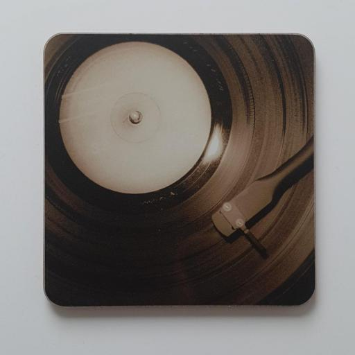 Vinyl record Brown coaster
