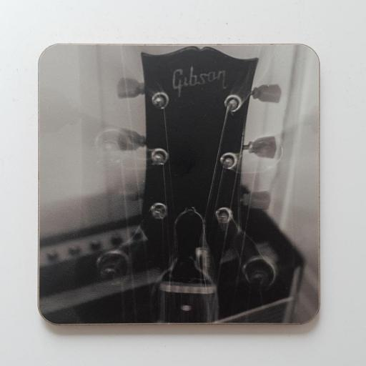 Gibson Light Burst coaster