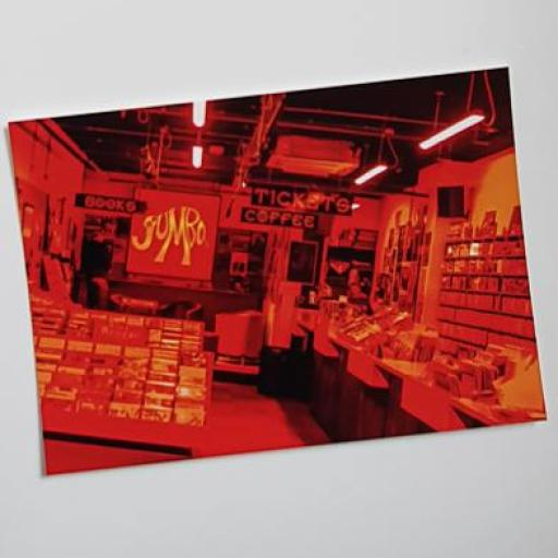 Jumbo Records postcard