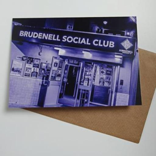 Brudenell Purple Art Card