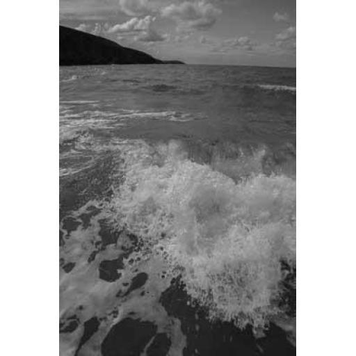 Munt, Pembrokeshire Waves portrait print