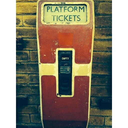 Platform Tickets, Keighley railway