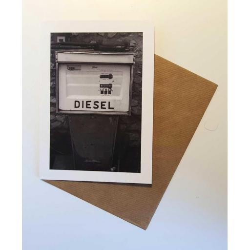 Diesel Pump art card