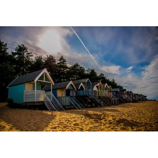 Beach huts - Wells Next the Sea