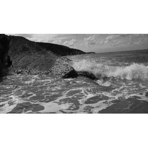 Munt Waves Pembrokeshire, landscape print