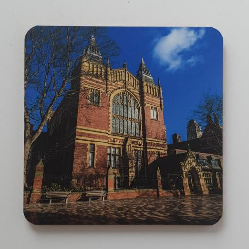 Great Hall Leeds University coaster