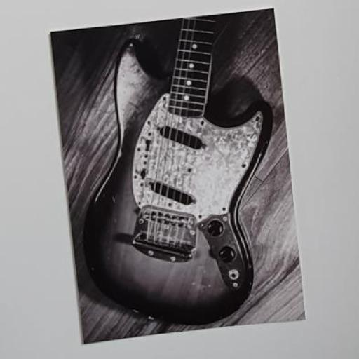 1972 Fender Guitar postcard