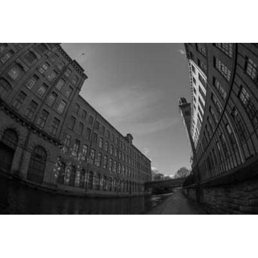 Salts Curve, New Mill Saltaire print