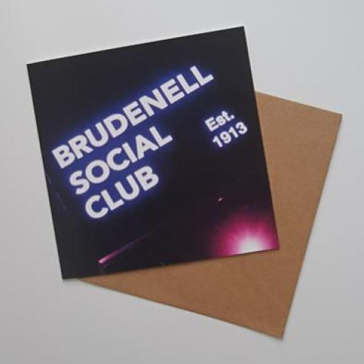 Brudenell Social club est 1913 art card