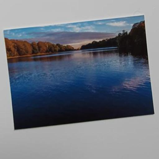 Waterloo Lake, Roundhay park postcard