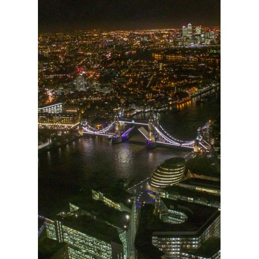 London Night Print 1