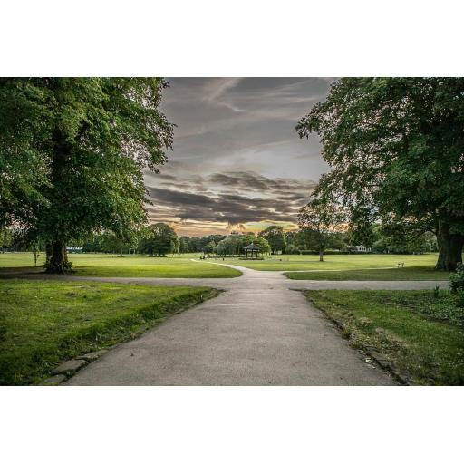 Horsforth Hall Park Pathways