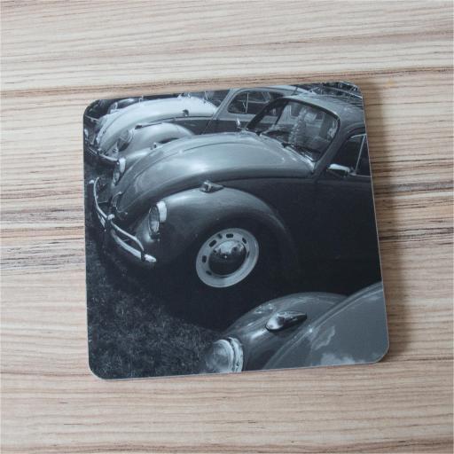 VW Beetlemania coaster