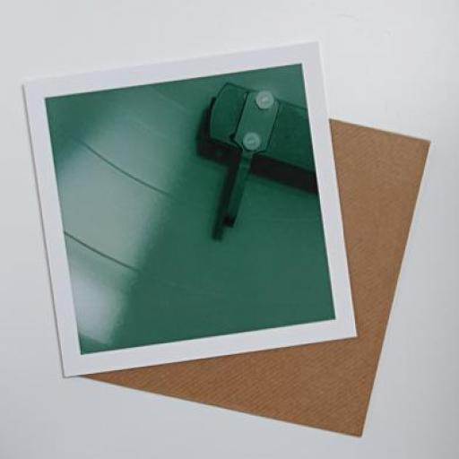 Vinyl Green art card