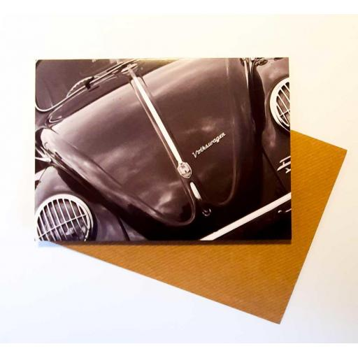 VW Beetle card