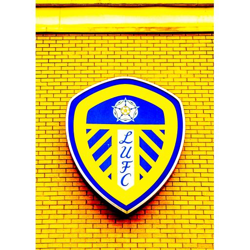 Leeds United Badge Yellow