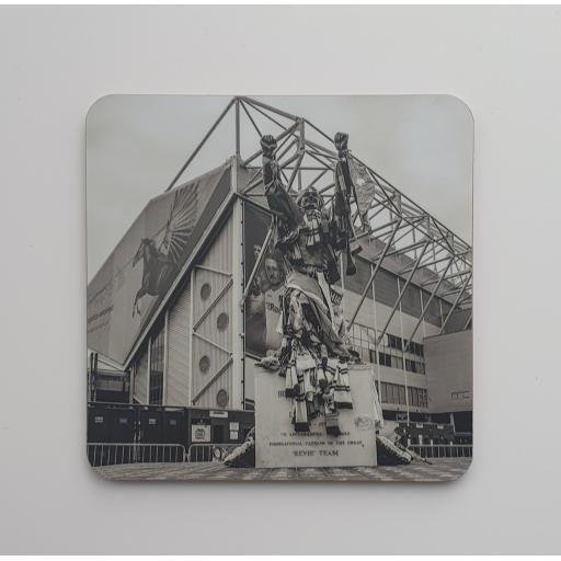 Lufc coaster 2 - Billy Bremner Elland Road coaster