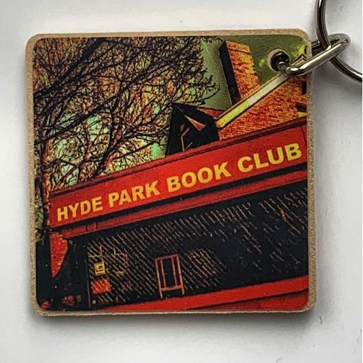 Hyde Park Book Club Keyring