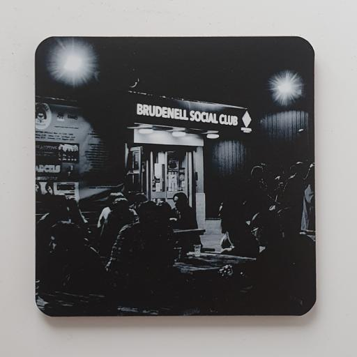 Brudenell Social Club Night Shot coaster