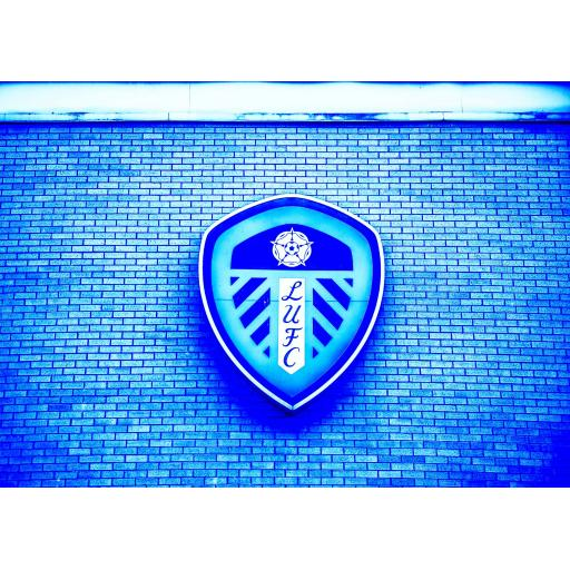 Leeds United Badge Blue