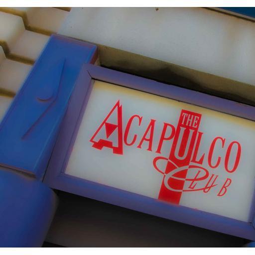 Acapulco Door sign, Halifax print
