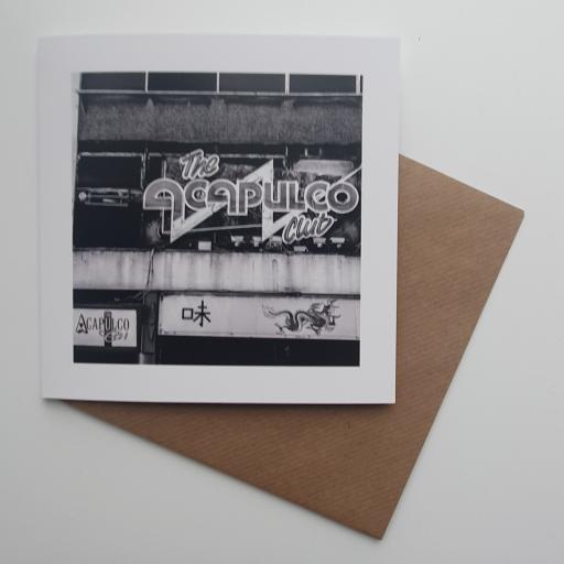 Acapulco Monochrome, Halifax art card