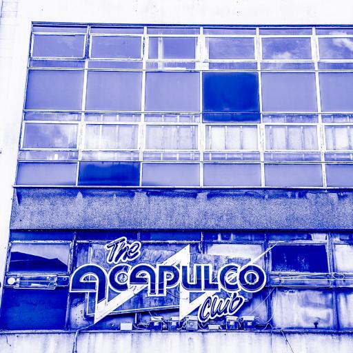 Acapulco Blue Halifax print