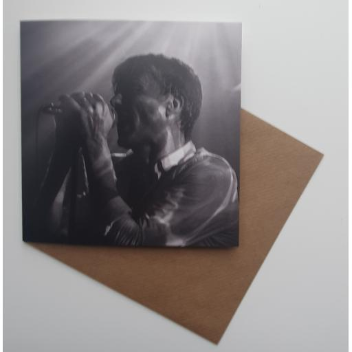 Brett Anderson at the Brudenell art card