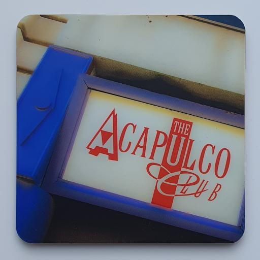 Acapulco Coaster 3 - Purple