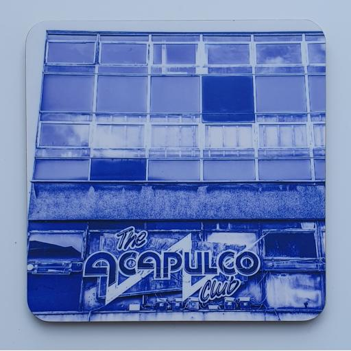 Acapulco Coaster 4 - Blue