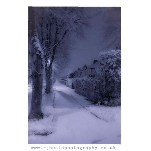 Stanhope Drive Snow, Horsforth