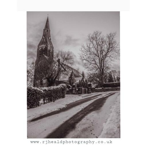 St Margaret's Church winter