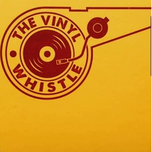 Vinyl Whistle coaster Yellow