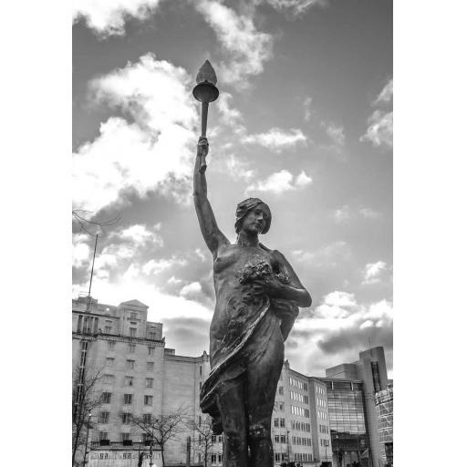 Leeds City Square print