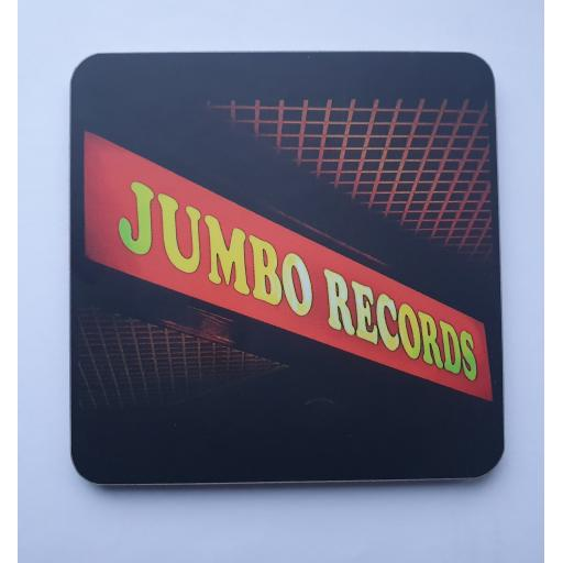 Jumbo Records Coaster Black
